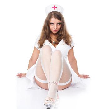 Мало кто из мужчин не мечтает втайне о прекрасной медсестре