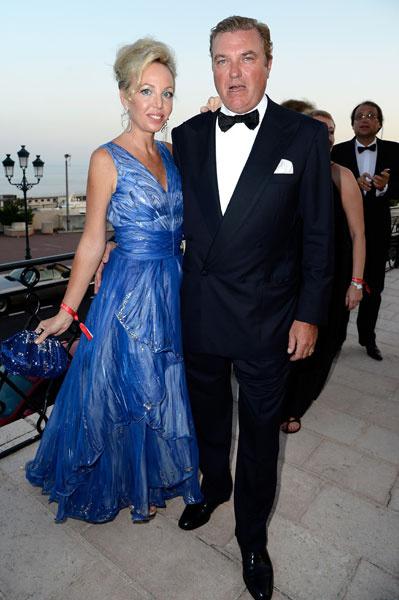 Принцесса Камилла и принц Карл де Бурбон на Love Ball