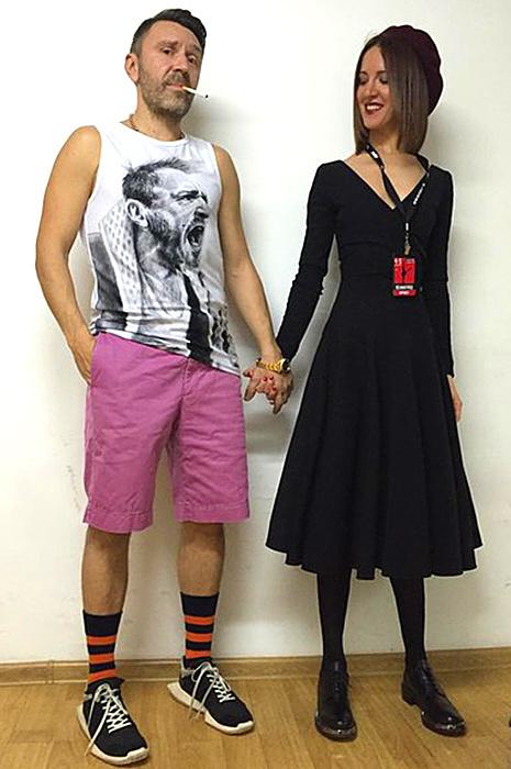 Cергей Шнуров и его жена Матильда: фото