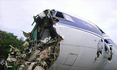 В Домодедово при посадке развалился самолет Ту-154