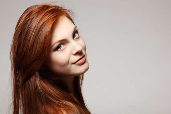 Рыжий цвет волос как вывести