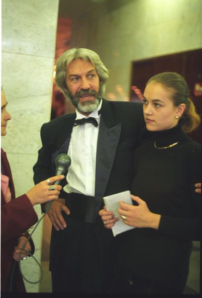 Борис Хмельницкий с дочерью фото