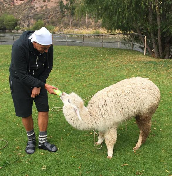 Стефано Габбана в Перу