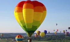 «Танцы» воздушных шаров в Кунгуре