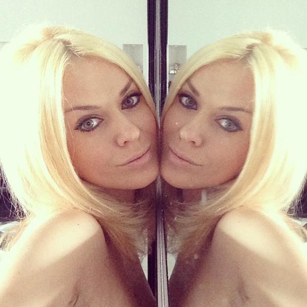 Таня Терешина не продержалась долго с натуральным цветом волос