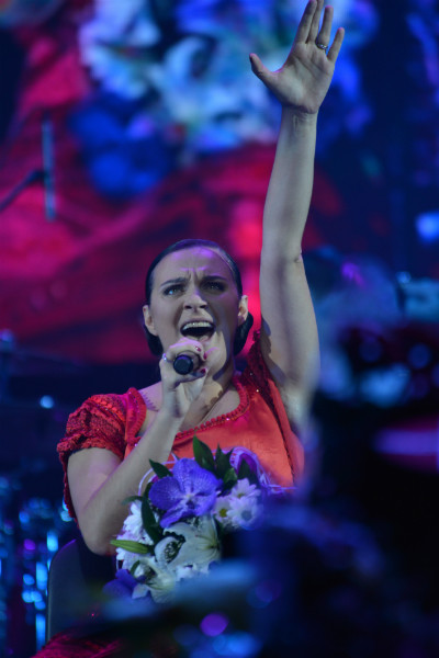 Елена Ваенга, 22 августа, День флага РФ