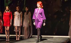 Модный показ от Татьяны Сулиминой: кружево, монохром и сетка