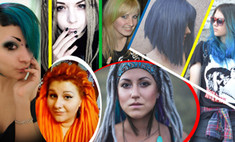 Шок-прическа: 15 девушек с необычным имиджем