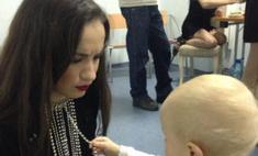 Виктория Дайнеко: «Как же я люблю маленьких деток»