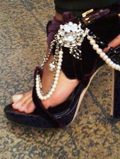 Алишия Кис (Alicia Keys) не переставала ходить на каблуке даже во время беременности.