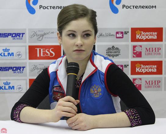 Юлия Липницкая, Чемпионат России по фигурному катанию - 2015, фото