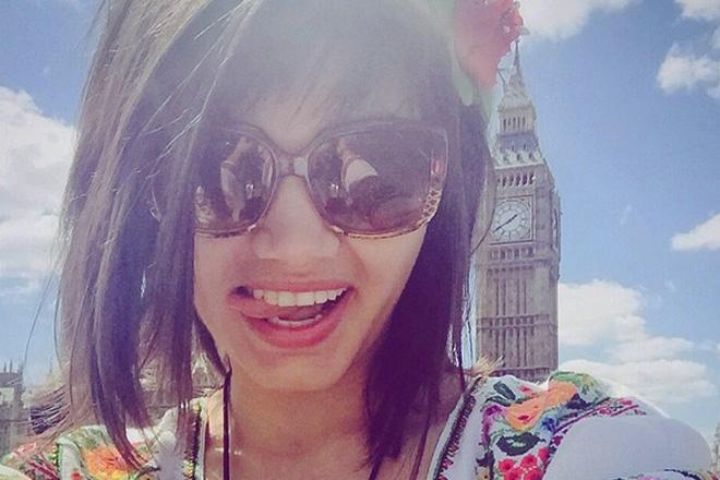 Британская эстрадная певица желает выступить наЕвровидении спесней овойне вУкраинском государстве
