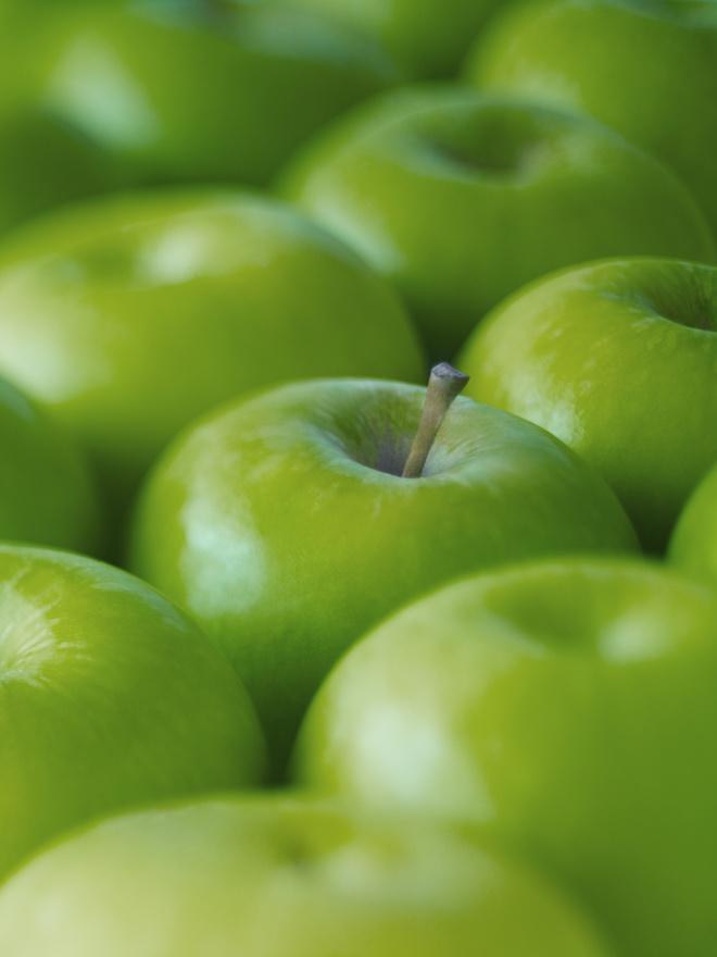 яблоки вечером