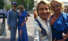 Анастасия Волочкова пришла на скачки в шокирующем наряде