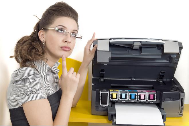 почистить принтер в домашних условиях