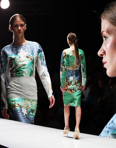 Показ коллекции Ruban осень-зима 2013/14 на Mercedes-Benz Fashion Week Russia