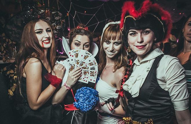 Хэллоуин 2014 в Ростове: вечеринки, костюмы, макияж