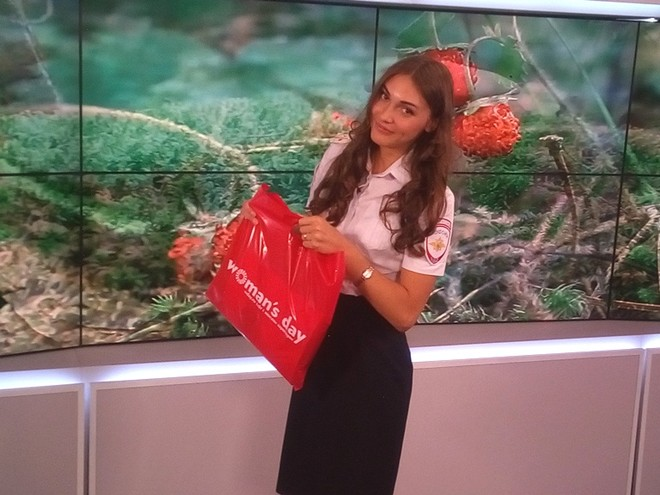 Юлия Шевердак, Мисс ГИБДД Красноярского края-2016