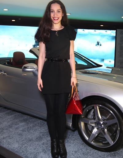 Виктория Дайнеко на Mercedes-Benz Fashion Week Russia
