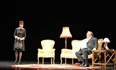 Жерар Депардье и Фанни Ардан исполнили в Иркутске «Музыку двоих»