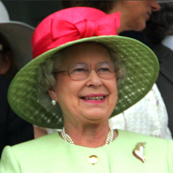 Ее Величество Королева Елизавета II.