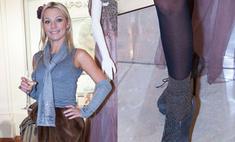 Модный конфуз: Ирина Салтыкова появилась в нелепом наряде