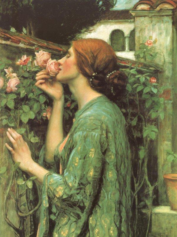 """Джон Уильям Уотерхаус, """"Мои любимые розы"""""""
