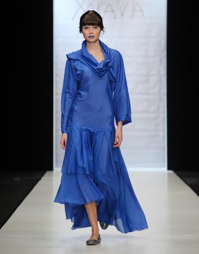 Mercedes-Benz Fashion Week: ХакаМа, весна-2012