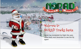 http://noradsanta.org