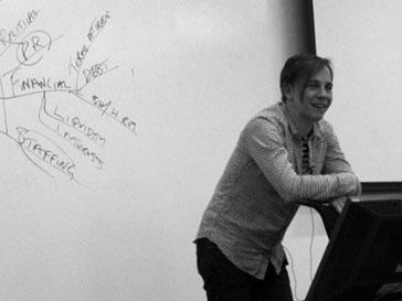 Илья Лагутенко прочитал лекцию