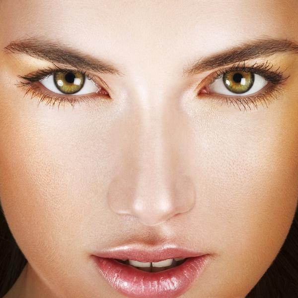 Макияж глаз дневной