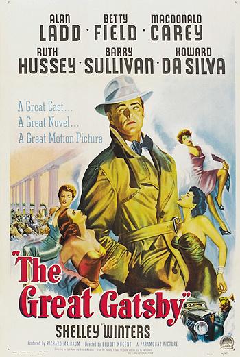 Постер к экранизации «Великого Гэтсби» 1949 года.