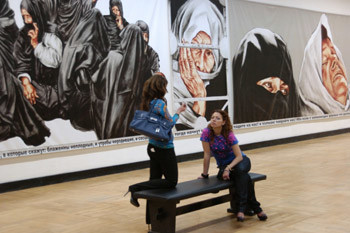 На ярмарке коллекции современного искусства представят 40 галерей из Австрии, Англии, Венгрии, Германии, Италии, Кубы, Латвии, России, Сербии, Украины, Финляндии, Франции, Чехии.