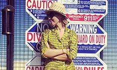 Ксения Собчак ходит по Лос-Анджелесу в пижаме