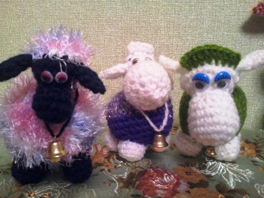 Ирина Пахомова, вязаная коза