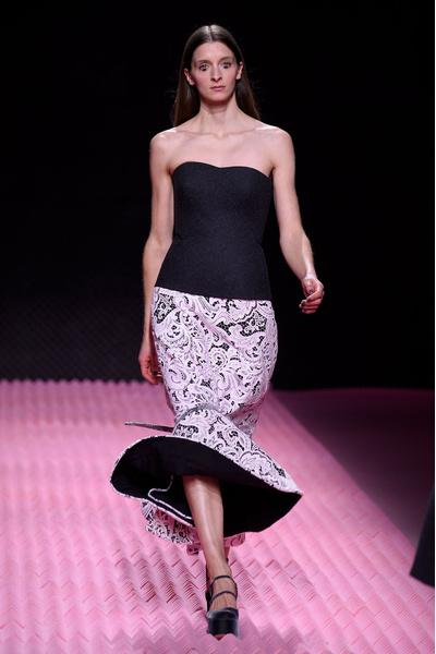 Показ Mary Katrantzou на Неделе моды в Лондоне | галерея [1] фото [31]