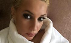 Лера Кудрявцева пострадала от пожара