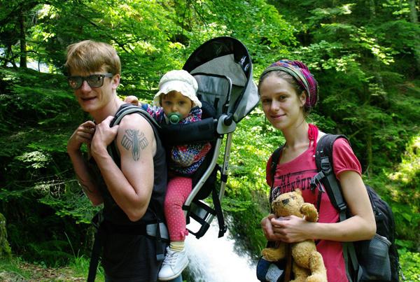 Олег Ягодин с семьей