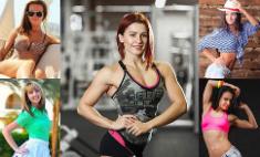 Самые красивые и сексуальные девушки фитнес-тренеры Казани