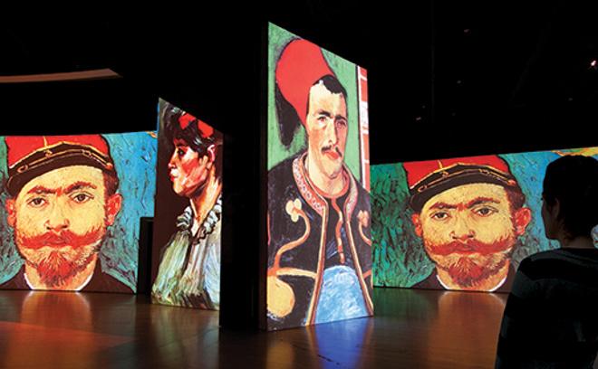 """Выставка """"Ван Гог. Ожившие полотна"""""""