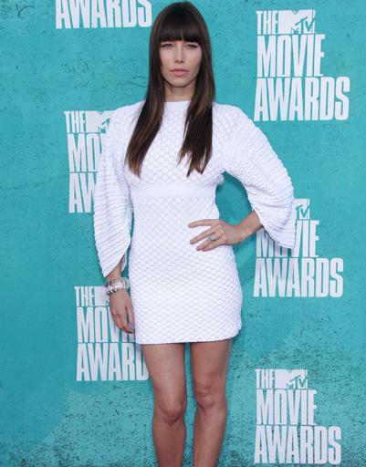 Джессика Бил (Jessica Biel) на MTV Music Awards 2012