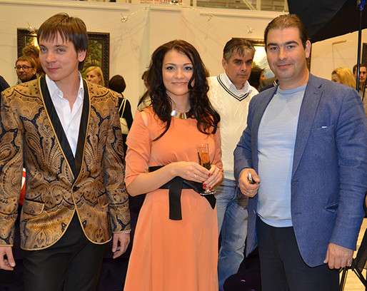 Александр Шилов и чета Майоровых