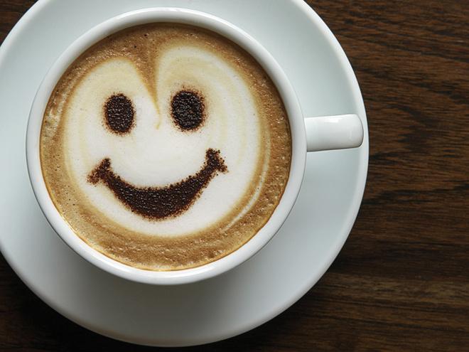 Мужчины любят кофе, кофе в постель, горячий напиток
