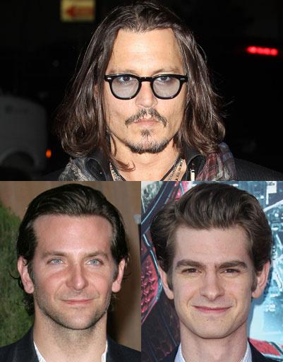 Джонни Депп (Johnny Depp), Брэдли Купер (Bradley Cooper), Эндрю Гарфилд (Andrew Garfield)