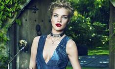 Наталья Водянова рекламирует одежду для подростков