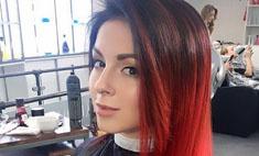 Нюша покрасила волосы в красный ради съемок