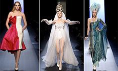 Жан-Поль Готье создал платья для свадьбы и развода