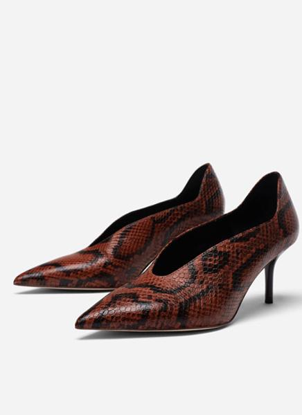 Кожаные туфли Uterque, 9990 руб.