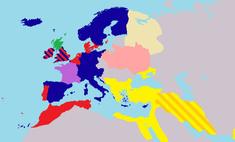 Карта: Как раньше называли сифилис в Европе