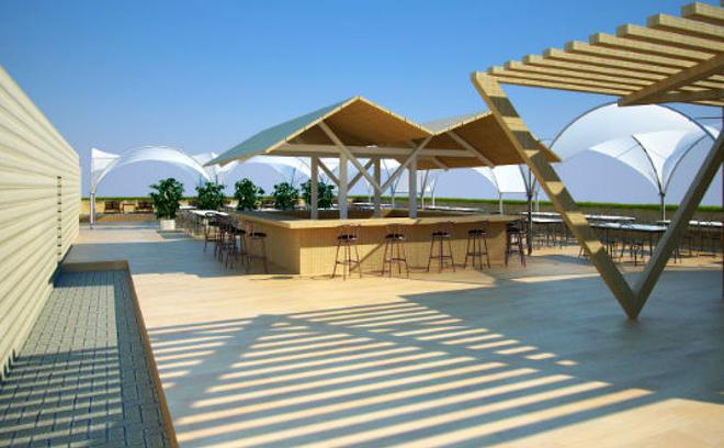Крыша центра «Artplay»